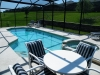 Oversize pool & deck with spa