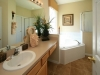 Ensuite bathroom with first master bedroom